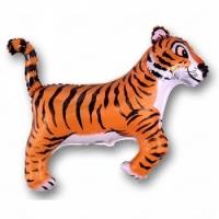 """Фольгированный шар """"Тигр"""" 35""""/89 см"""