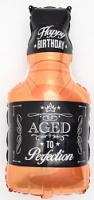 """Фольгированный шар """"Бутылка Виски"""" 32""""/81 см"""