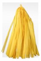 Гирлянда Тассел, Желтая 2 м, 10 листов