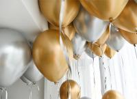 """Воздушный шар """"Хром"""" 12"""" золото"""